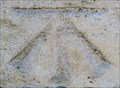 Image for Cut Bench Mark - Hampton Court Bridge, London, UK