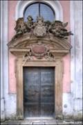 Image for Baroque portal of St. Mary Magdalene Church / Barokní portál kostela Sv. Márí Magdaleny - Skalka (Mníšek pod Brdy, Central Bohemia)