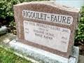 Image for 100 - Suzanne (Duboc) Faure - cimetière Notre-Dame, Gatineau (Hull), Québec