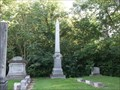 Image for Hughes Family Obelisk - Beulah Cemetery - rural Fountain County, IN