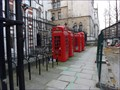 Image for Four Red Boxes - Carey Street, London, UK