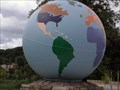 Image for War Memorial Globe - Coatesville, PA