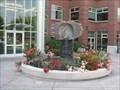 Image for Ceramic scuplture fountain at Heritage Square, Emeryville, California