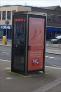 Image for Campbell Place Payphone - Stoke, Stoke-on- Trent, Staffordshire.
