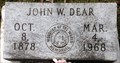 Image for John W Dear - Rexford Cemetery- Simpson County, Mississippi