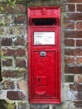 Image for Victorian Post Box - New Inn Bank - Eccleshall - Staffordshire - UK