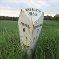 Image for A932 Milepost - Milldens, Angus.