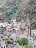 Image for Abbatiale Sainte-Foy - Conques (Aveyron), France