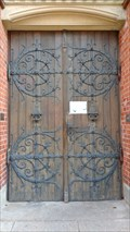 Image for Wooden Portal of St. Gertrud - Hamburg,Germany