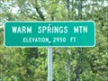 Image for Warm Springs Mountian