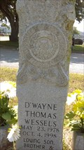 Image for D'Wayne Thomas Wessels - San Geronimo Cemetery - Seguin, TX