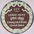 Image for Leigh Hunt - Upper Cheyne Row, London, UK
