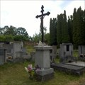 Image for Central Cross On Vinarice Cemetery, Czechia