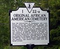 Image for Original African-American Cemetery