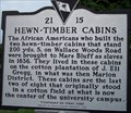 Image for 21-15 Hewn~Timber Cabins