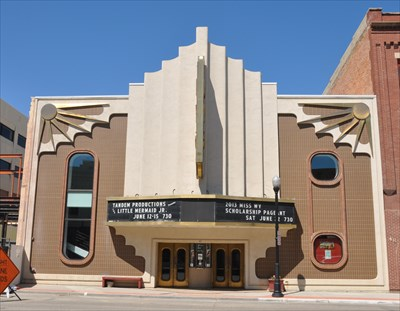 wyo theater vintage movie theaters on waymarkingcom