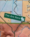 Image for Conde Creek Area You Are Here Map - Jackson County, OR
