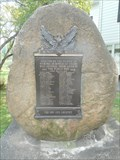 Image for First World War Memorial - Verona, NY