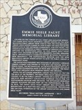 Image for Emmie Steele Faust Memorial Library