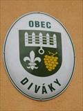 Image for Znak obce - Diváky, Czech Republic