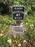 Image for Grand Union Canal Mile Marker - Leighton Buzzard, Beds