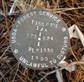 Image for T15S R10E S23 S4 1/4 COR -Deschutes County, OR