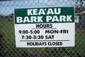 Image for KEA`AU  BARK PARK  ~  Big Island of Hawai`i  U.S.A.