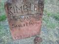 Image for Sally Maude Kimbler - Lawrie Cemetery - Guthrie, OK