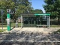 Image for R-Line North Burial Ground bus shelter - Providence, Rhode Island