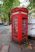 Image for Red Telephone Box - Highbury New Park, London, UK
