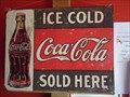 "Image for ""Ice Cold Coca Cola sold here"" Sign - Akureyri, Iceland"