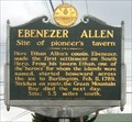 Image for Ebenezer Allen - South Hero