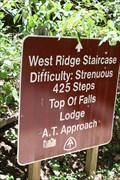 Image for West Ridge Staircase -- AT Approach Trail, Amicalola Falls State Park, Dawsonville GA