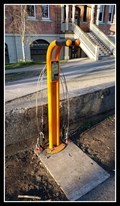 Image for South Park School Bicycle Repair Stand — Victoria, BC, Canada