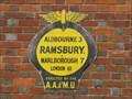 Image for Ramsbury Automobile Association Sign, Ramsbury, Wiltshire