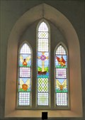 Image for Stained Glass Window - Trinity URC -  Ramsey, Isle of Man