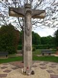 Image for Kreuz auf dem Waldfriedhof in Riegelsberg - Saarland, Germany