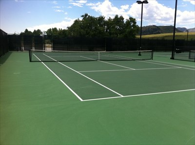 One Tennis Court, Spring Canyon Park, Fort Collins, CO