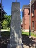 Image for Bothwell Great War Memorial - Bothwell, ON