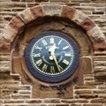 Image for Clock, North Chapel, Wombwell Cemetery, Barnsley.