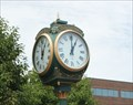 Image for Freestanding Town Clock -- Sioux Falls SD
