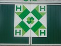 Image for Ridgetown 4H Barn Quilt - Ridgetown, Ontario