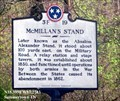 Image for McMillan's Stand (3F 19) - Summertown TN