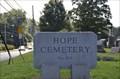 Image for Hope Cemetery - Salem, Ohio