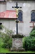 Image for Cross at the Church of the St. John of Nepomuk / Kríž u kostela Sv. Jana Nepomuckého - Svoboda nad Úpou (North-East Bohemia)