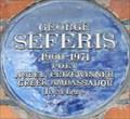 Image for George Seferis - Sloane Avenue, London, UK