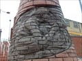 Image for Coal Miner - Relief Sculpture - Bargoed, Wales.