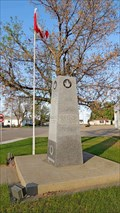 Image for Town of Foremost War Memorial - Foremost, AB