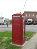 Image for Red Telephone Box - Jonesboro, Illinois