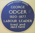 Image for George Odger - St Giles High Street, London, UK